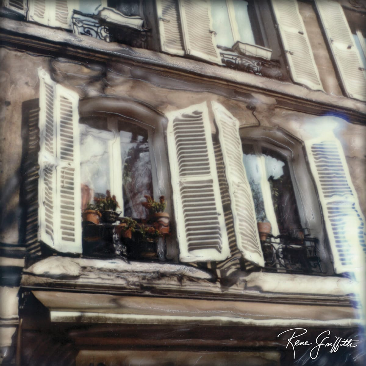 Windows to Paris by Rene Griffith