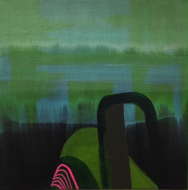 Porirua Hills by Linda Gilbert
