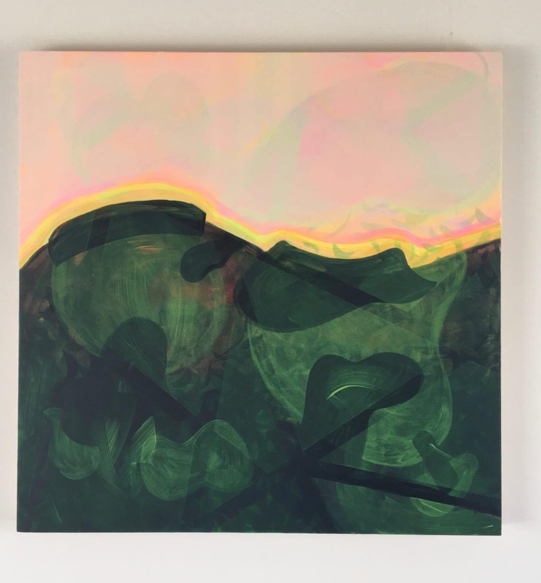 Magnetic fields under neon skies by Linda Gilbert