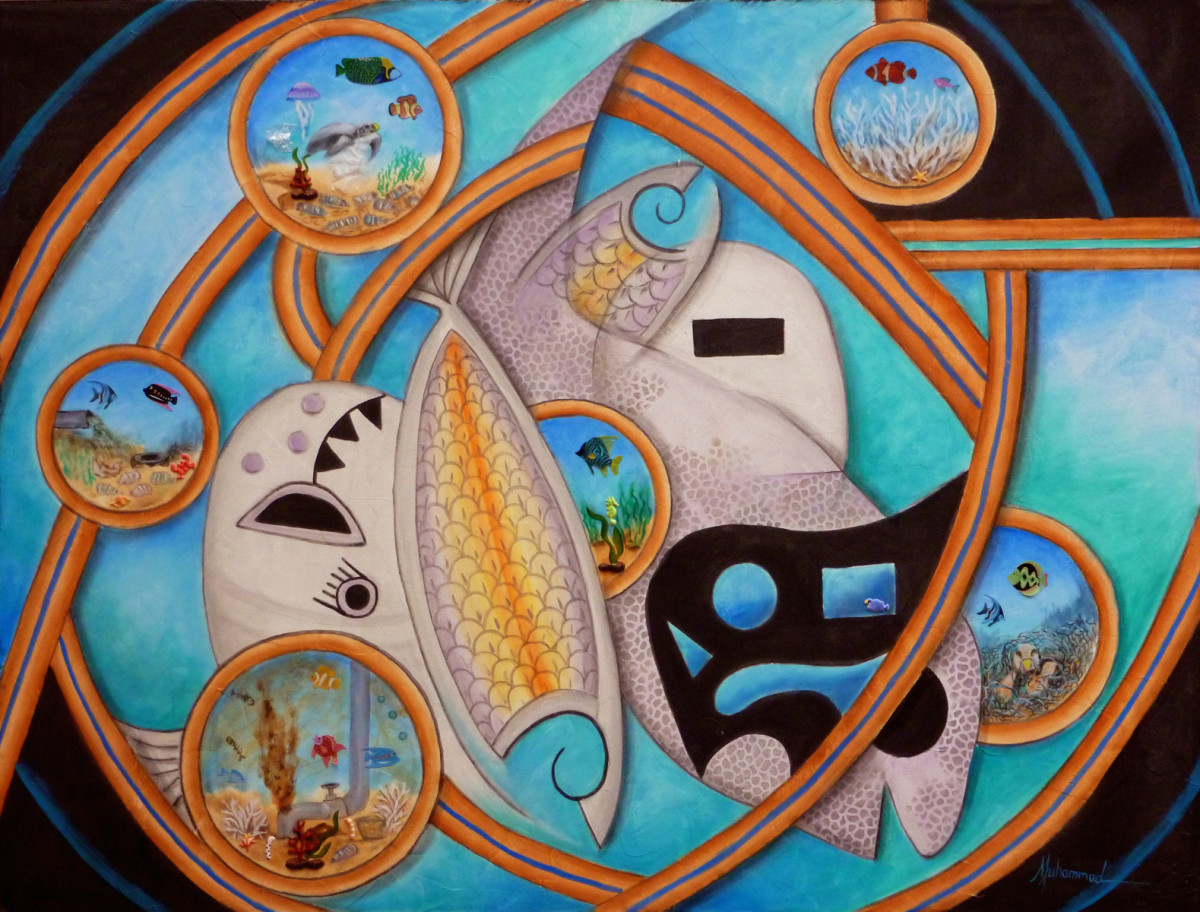 Ocean Spirit by Marcella Hayes Muhammad