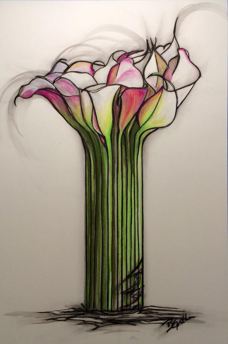 Calla Cadre by Brenda Gribbin