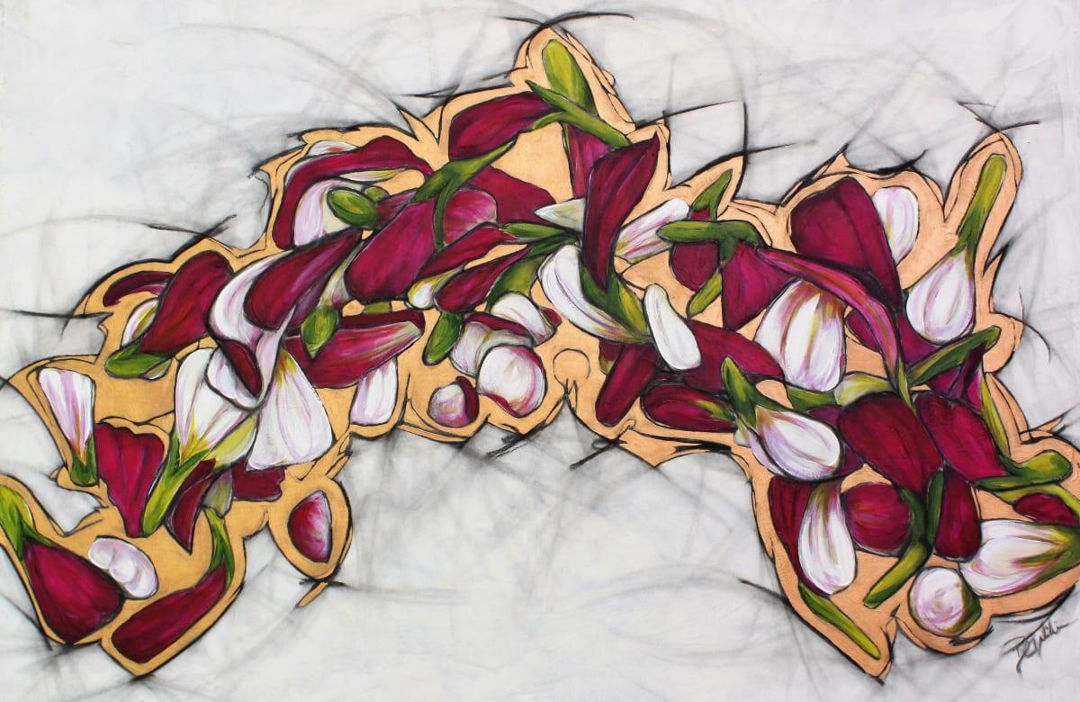Zinnia Crown by Brenda Gribbin
