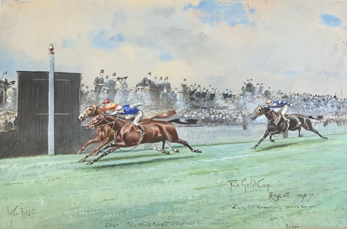 The Gold Cup, Ascot, 1907
