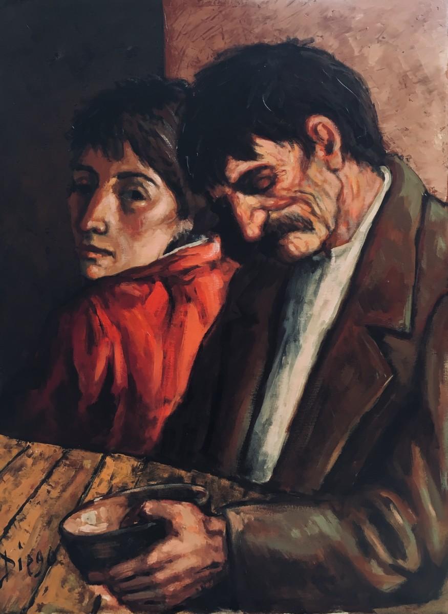 """""""The Supper"""" #C102 by Antonio Diego Voci"""