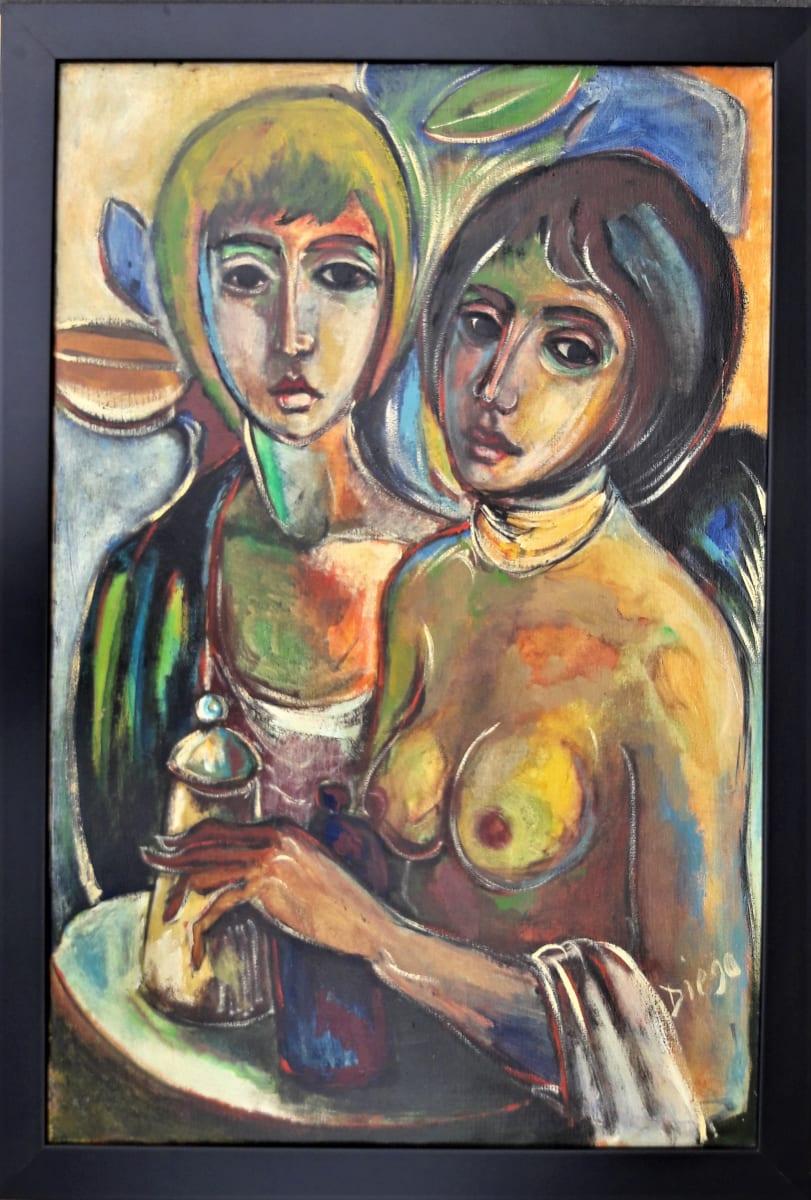 """""""The 2 Girlfriends"""" #C27 by Antonio Diego Voci"""