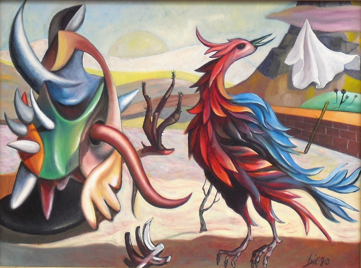 """Les Animaux"" by Antonio Diego Voci #C34 by Antonio Diego Voci"