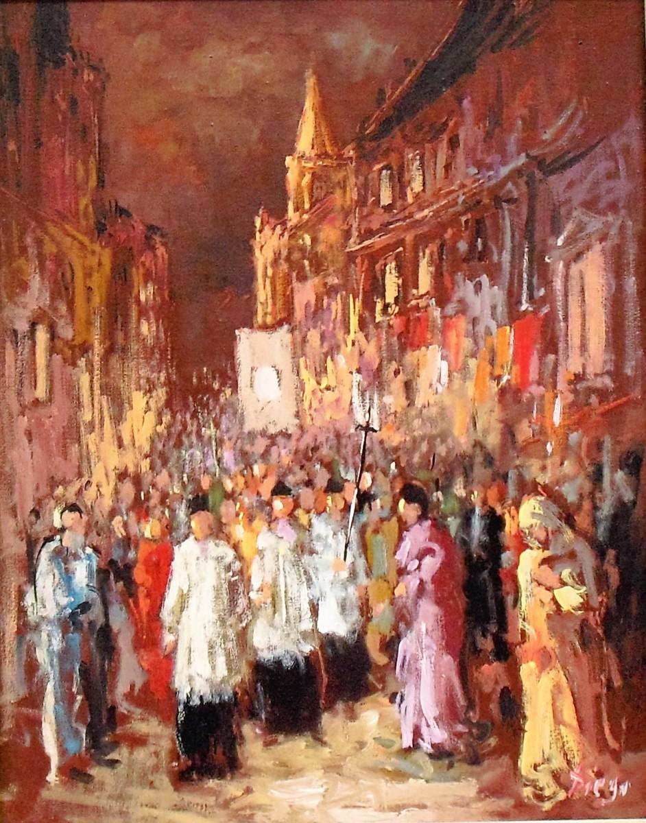 """Procession"" by Antonio Diego Voci #C45 by Antonio Diego Voci"