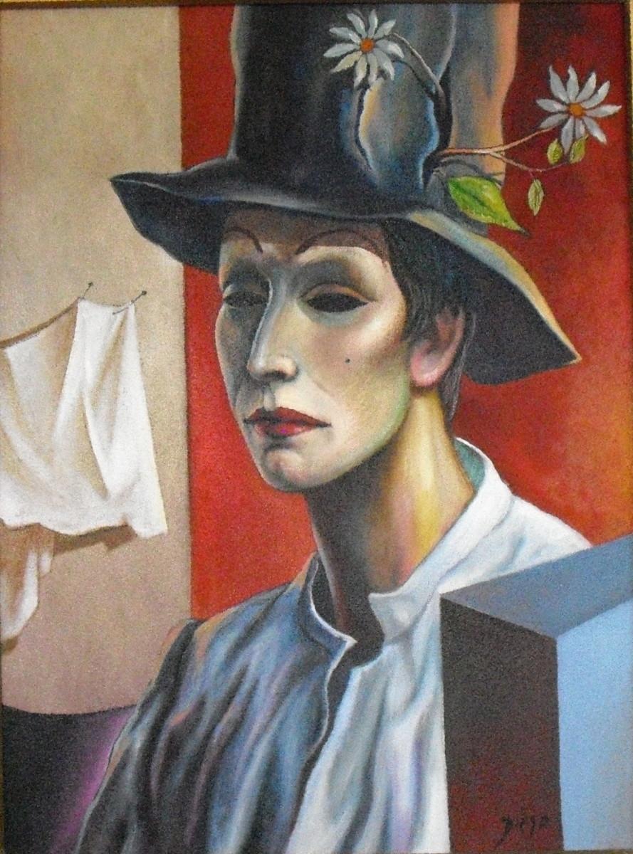 """""""Der Narr mit Margerite"""" by Antonio Diego Voci #C51 by Antonio Diego Voci"""