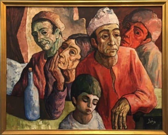 """Italienische Arbeiterfamilie""  #C62 by Antonio Diego Voci by Antonio Diego Voci"