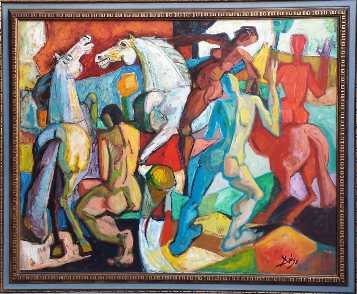 """Le Amazzoni"" by Antonio Diego Voci #C87 by Antonio Diego Voci"