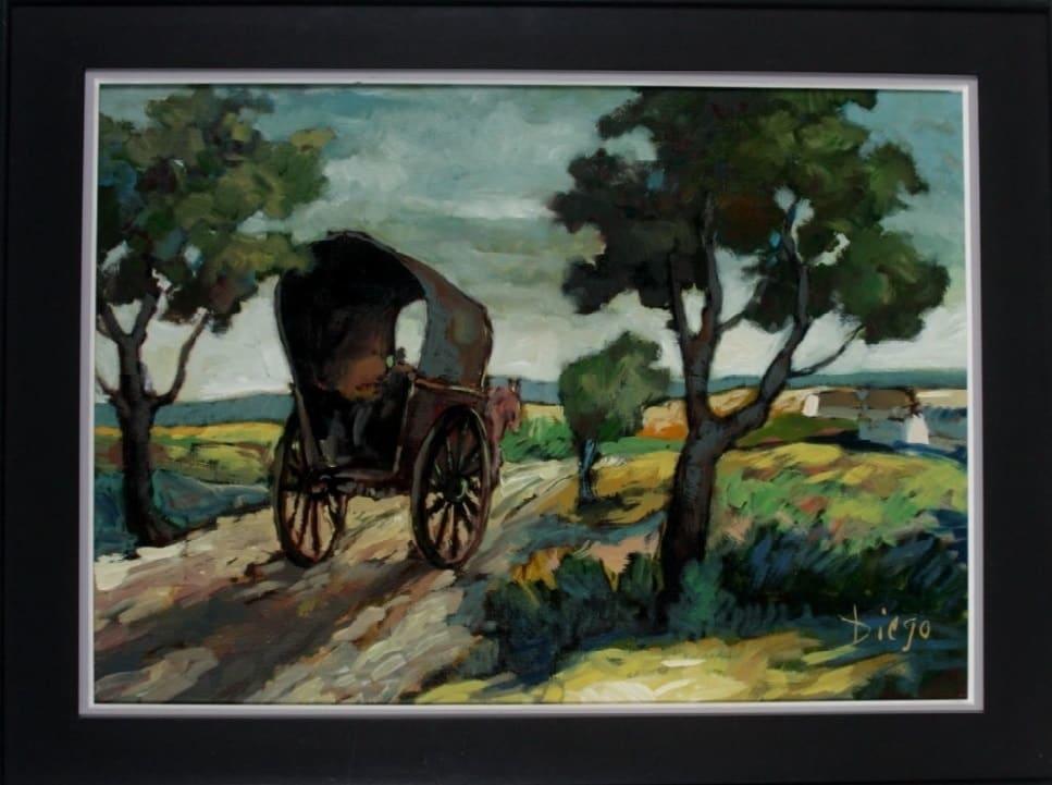 """""""Landscape"""" by Antonio Diego Voci #C88 by Antonio Diego Voci"""