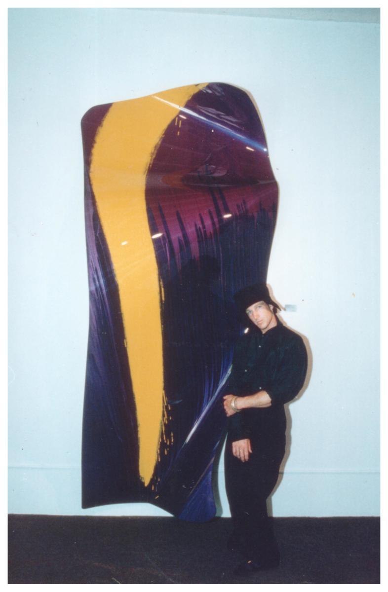 """Fascination"" (The Yellow River) by Brandon Paris by Brandon Paris"