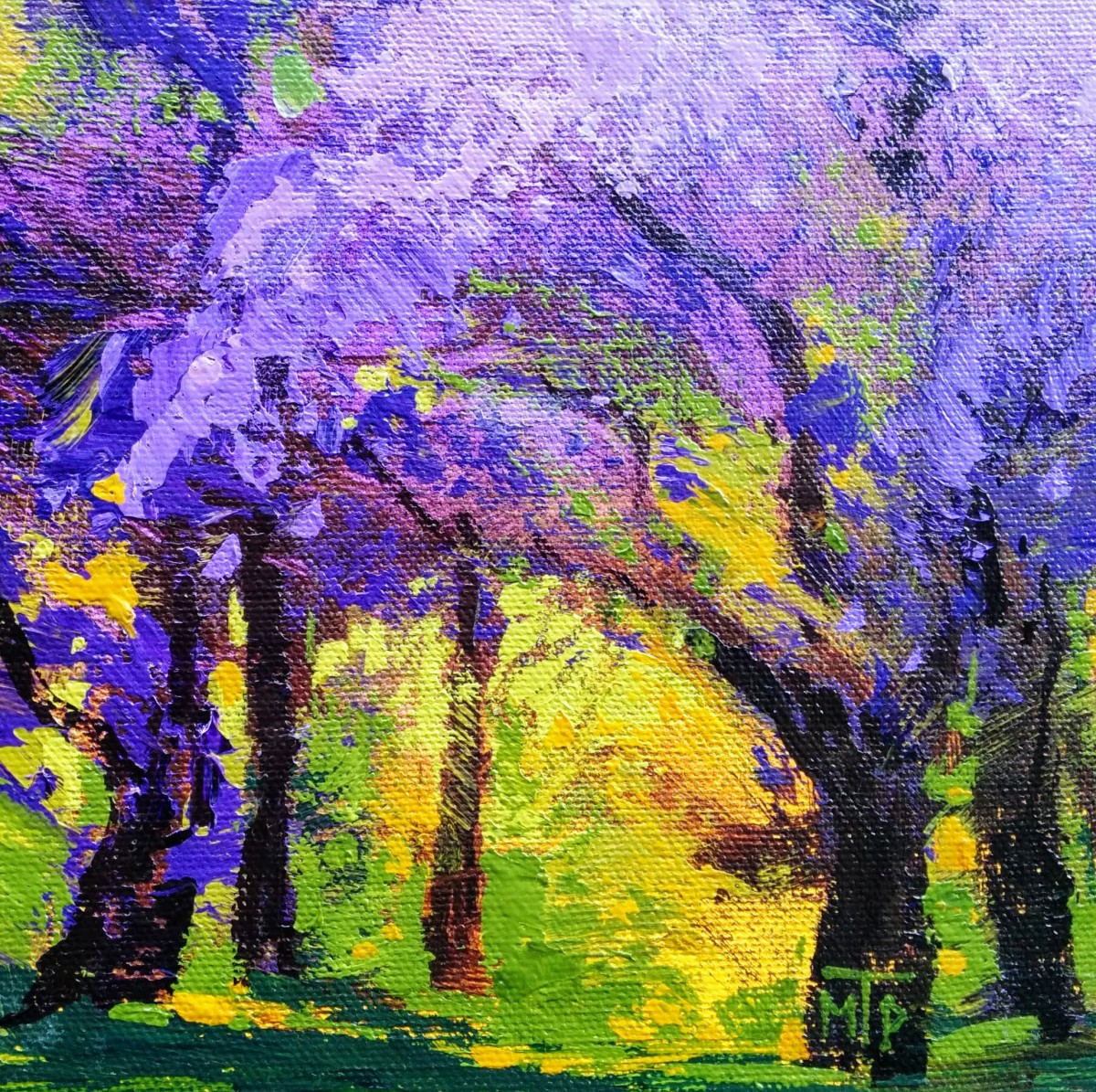 Blossoming Trees Study