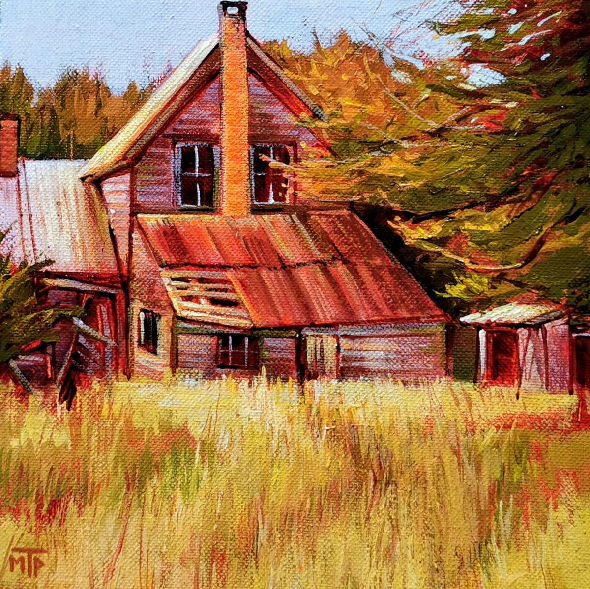 Old Homestead by Tatjana Mirkov-Popovicki