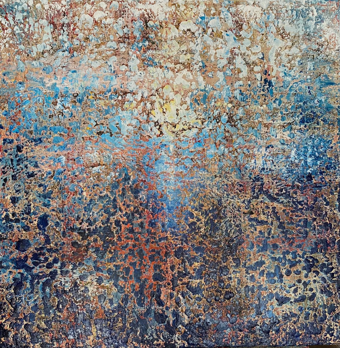 AB2141 by Ansley Pye  Image: Textural Abstract by Ansley Pye