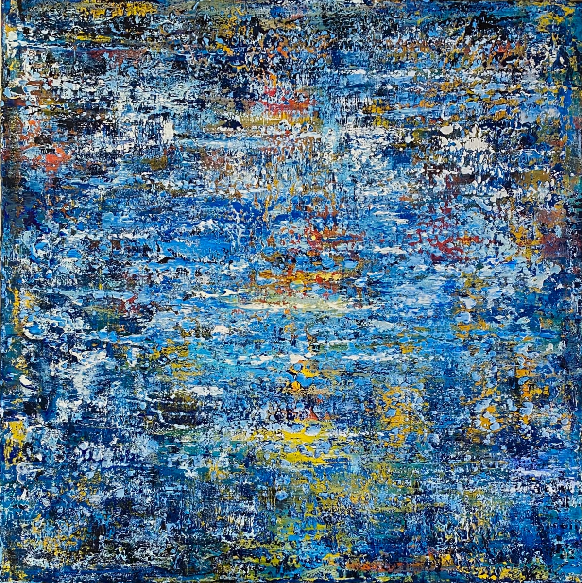 AB2147 by Ansley Pye  Image: Textural Abstract by Ansley Pye