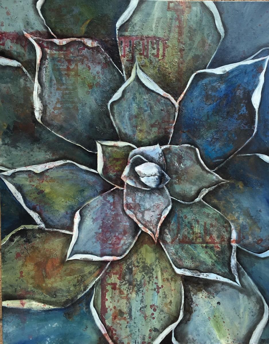 Blue Agave II by Ansley Pye
