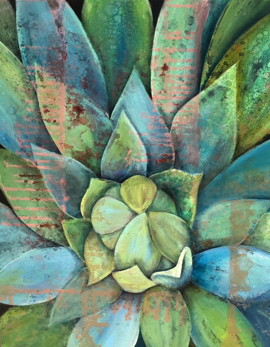 Blue Agave IV by Ansley Pye