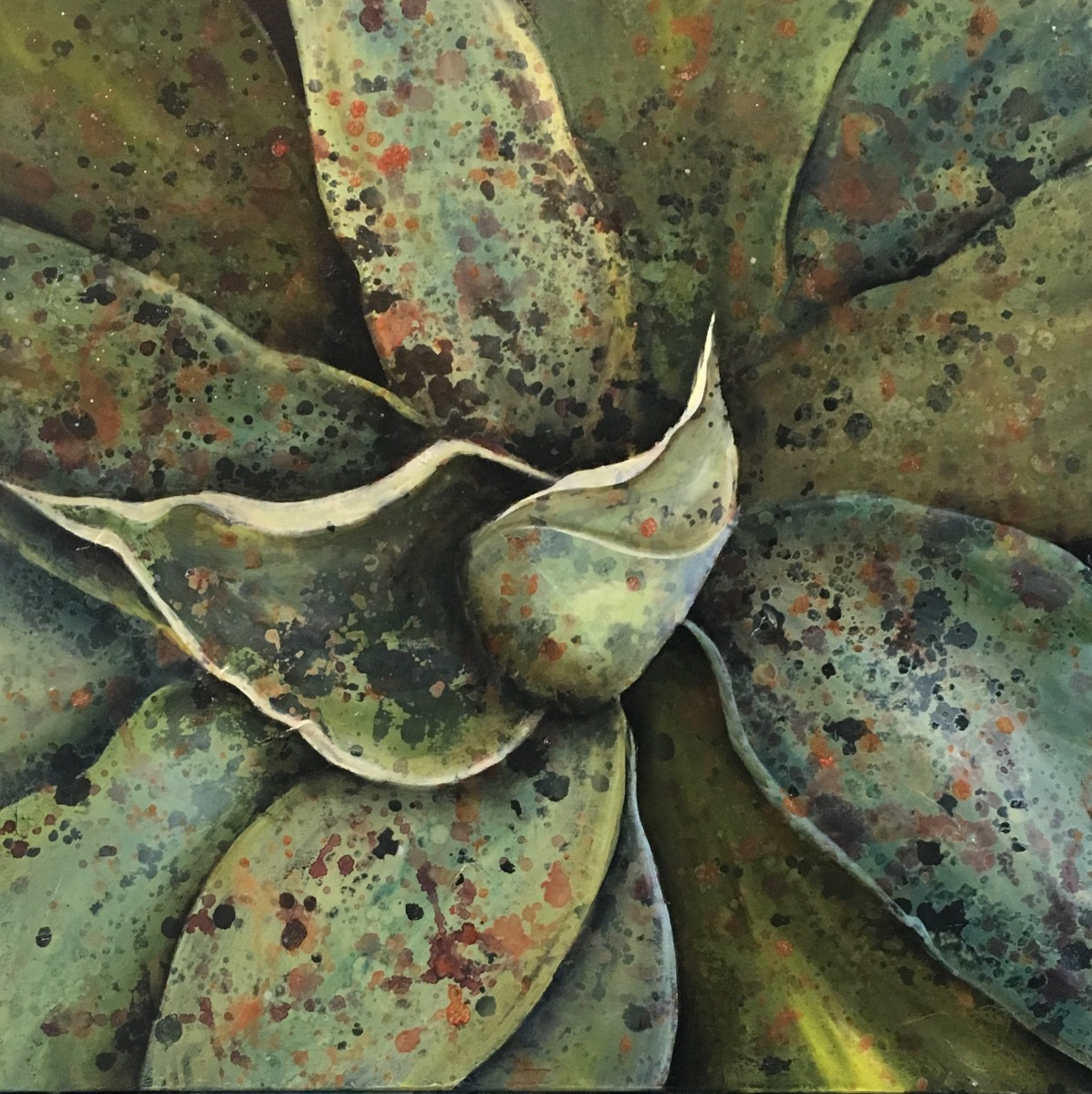 Blue Agave V by Ansley Pye