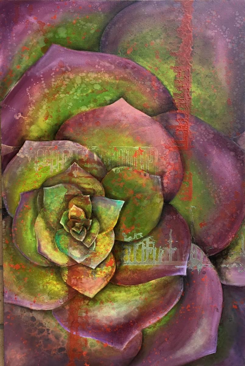 Purple Green by Ansley Pye