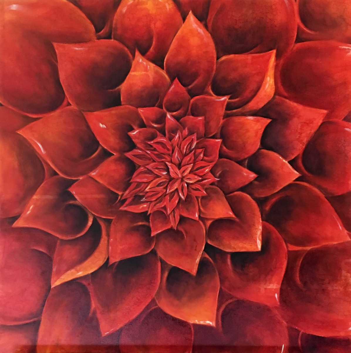 Red Blossom by Ansley Pye