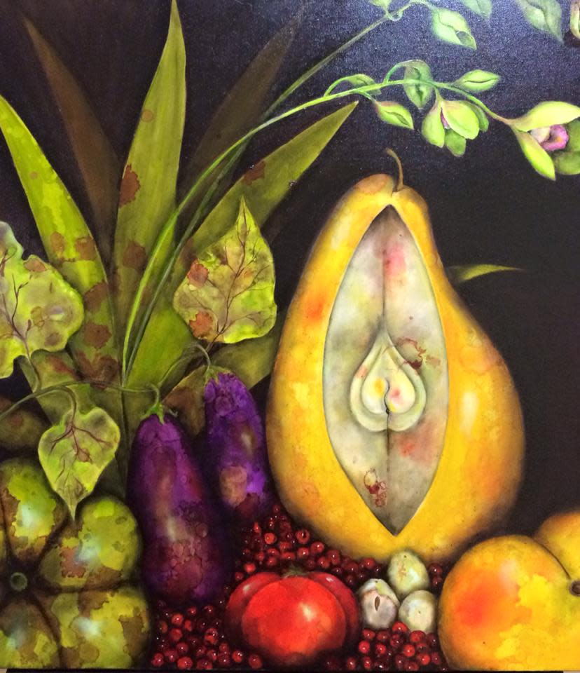 The Peach and the Pear by Ansley Pye