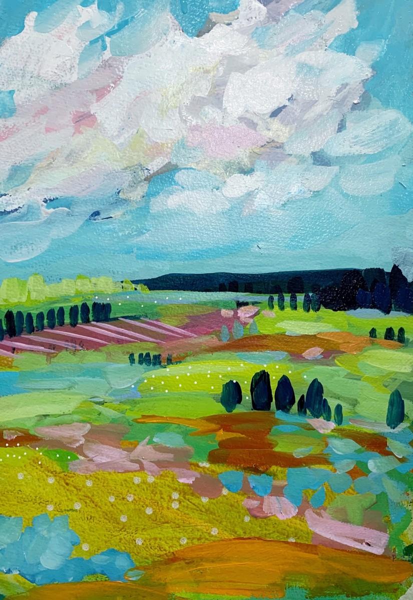 Landscape Study 2 by Clair Bremner