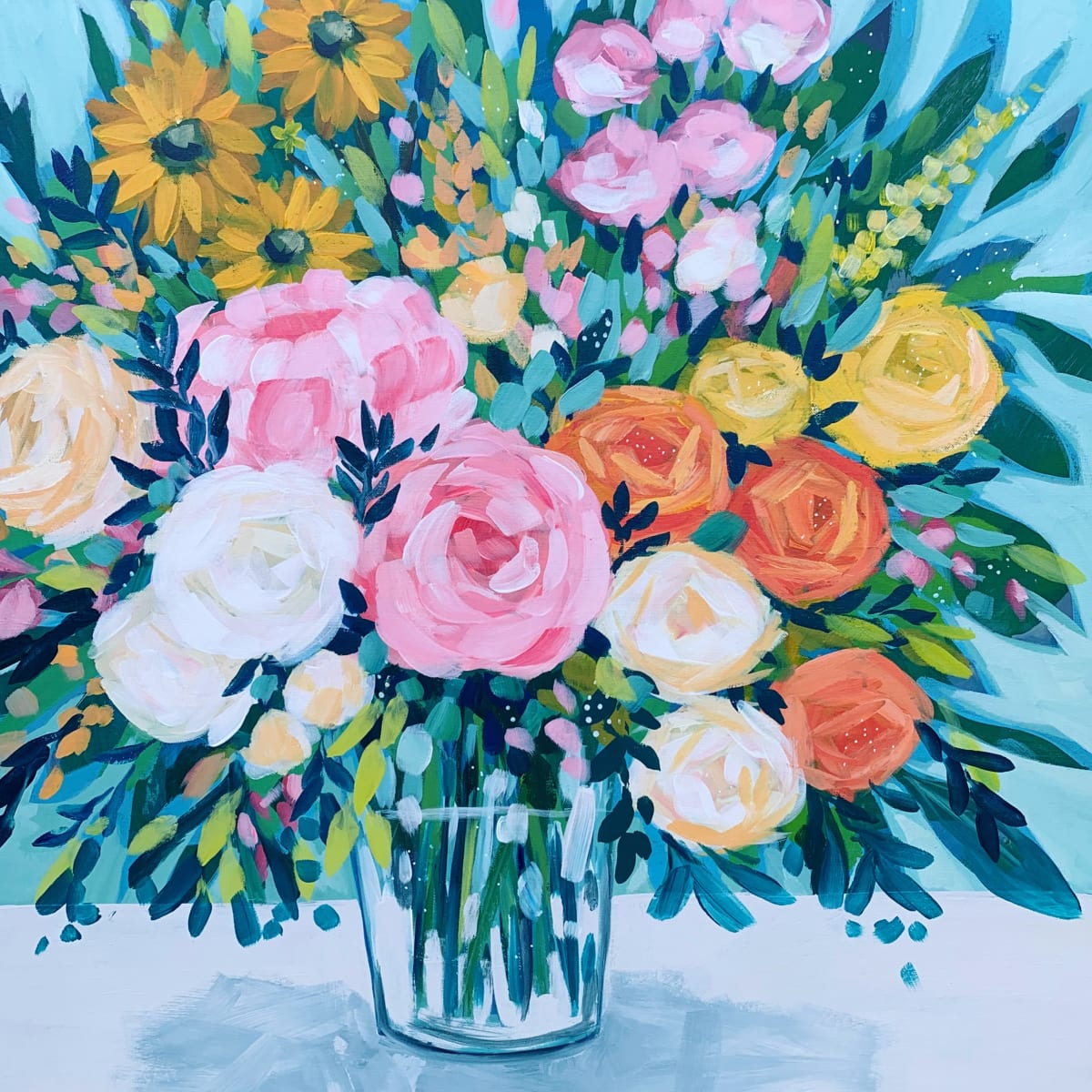 Mostly Roses by Clair Bremner