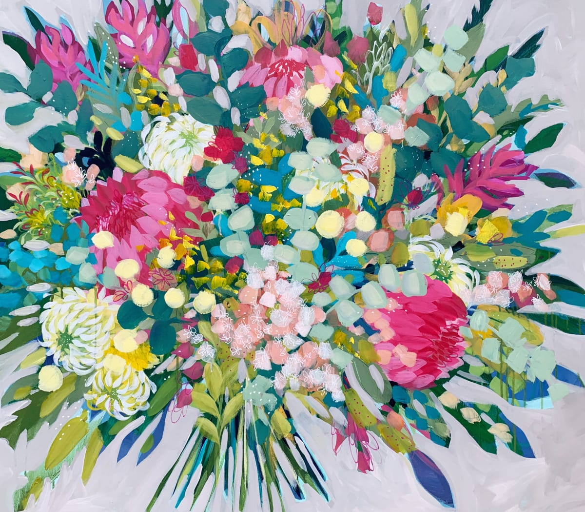 Flower Confetti by Clair Bremner
