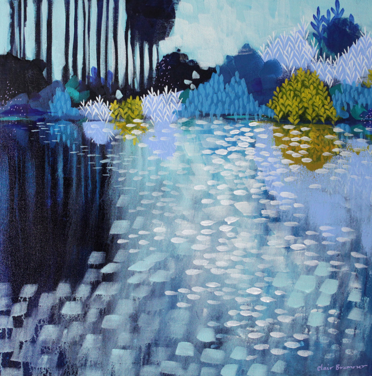 Blue Morning 1 by Clair Bremner