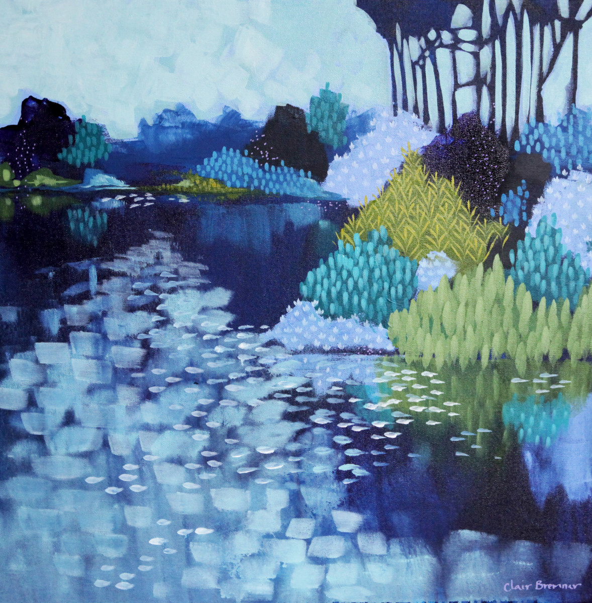 Blue Morning 2 by Clair Bremner