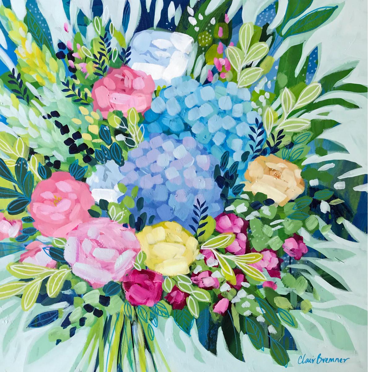 Cottage Garden by Clair Bremner