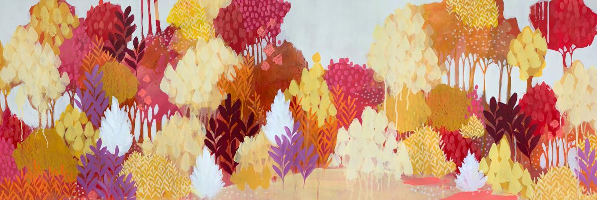 Crimson Meadow by Clair Bremner