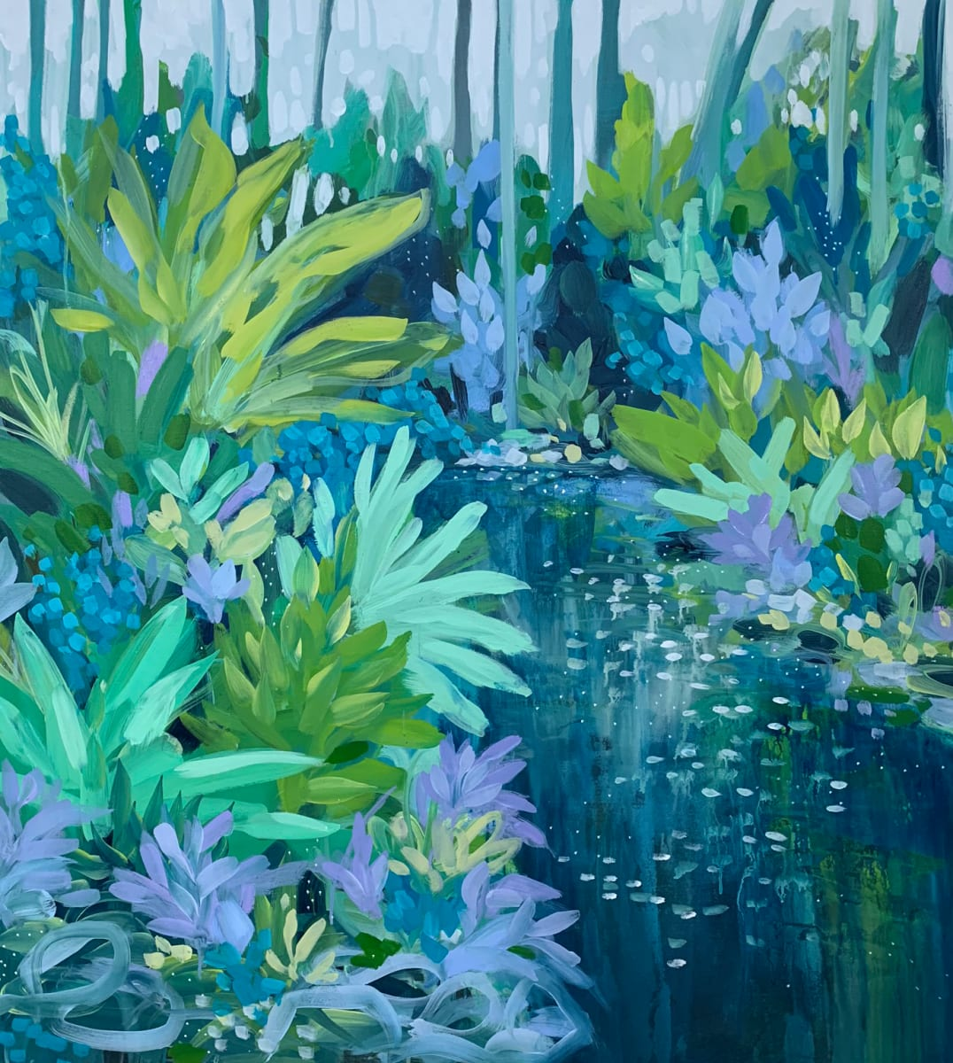 Crossing Near the Ferns by Clair Bremner