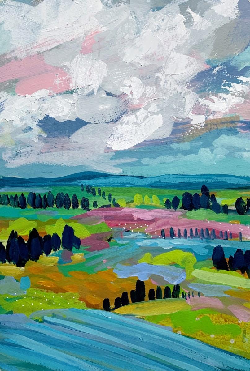 Landscape Study 1 by Clair Bremner