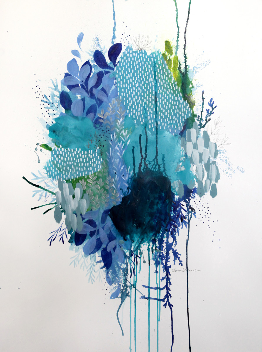 Floral Study 2 by Clair Bremner