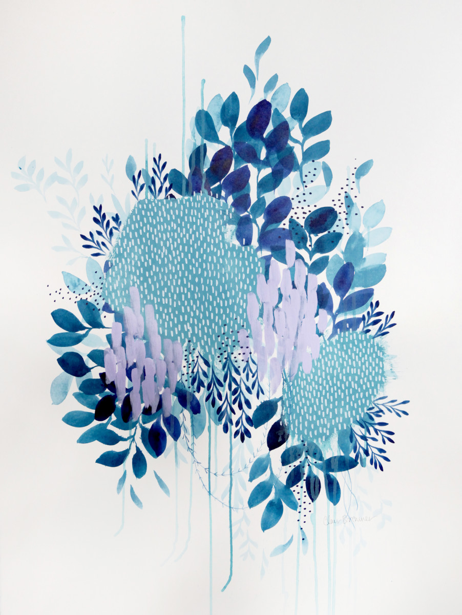 Floral study 1 by Clair Bremner