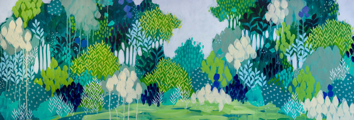 Lush Forest by Clair Bremner