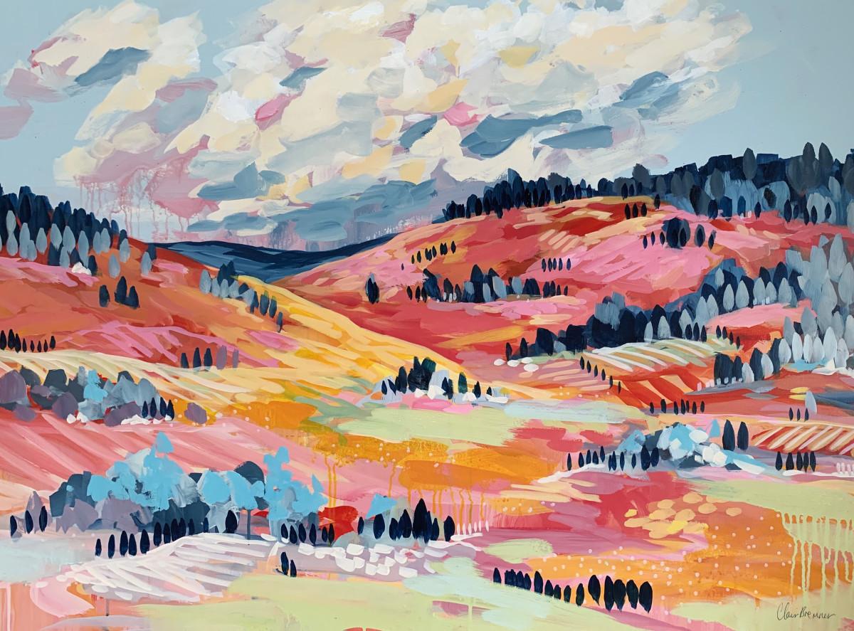 Patchwork Landscape by Clair Bremner
