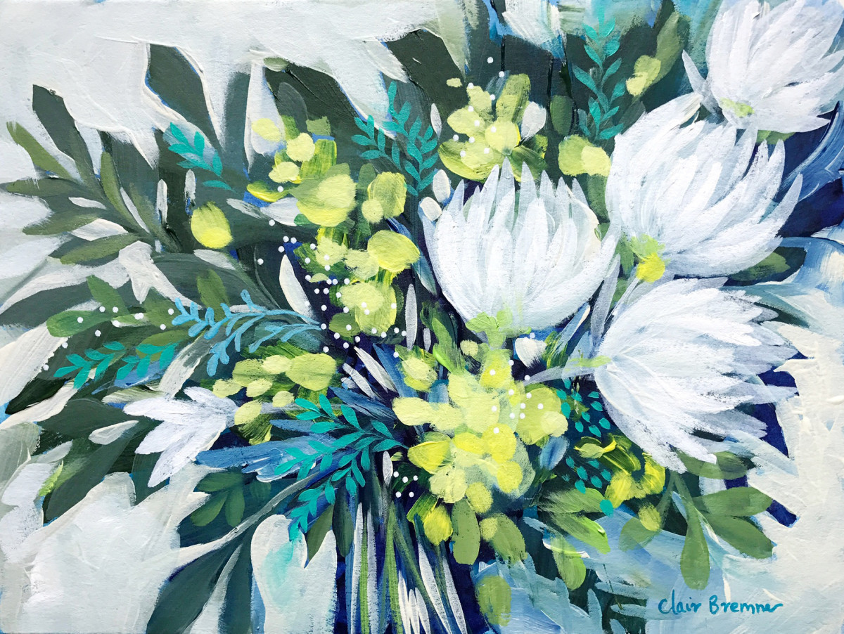 Wattle Bouquet 1 by Clair Bremner