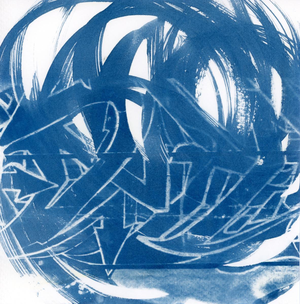 Cyanotype 20191016001 by Karen Johanson
