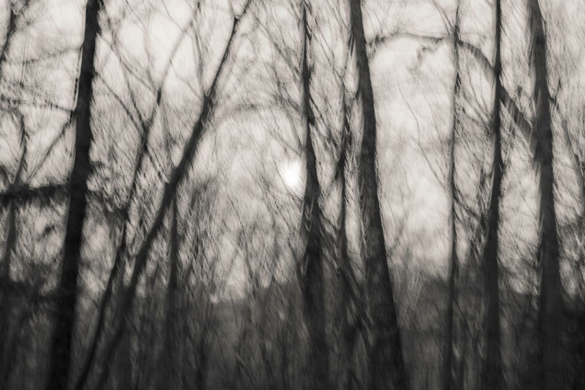 full moon sunrise by Kelly Sinclair