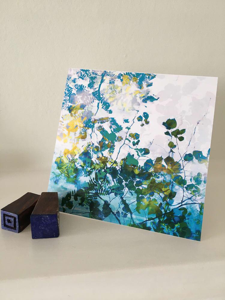 greeting card square by caroline fraser