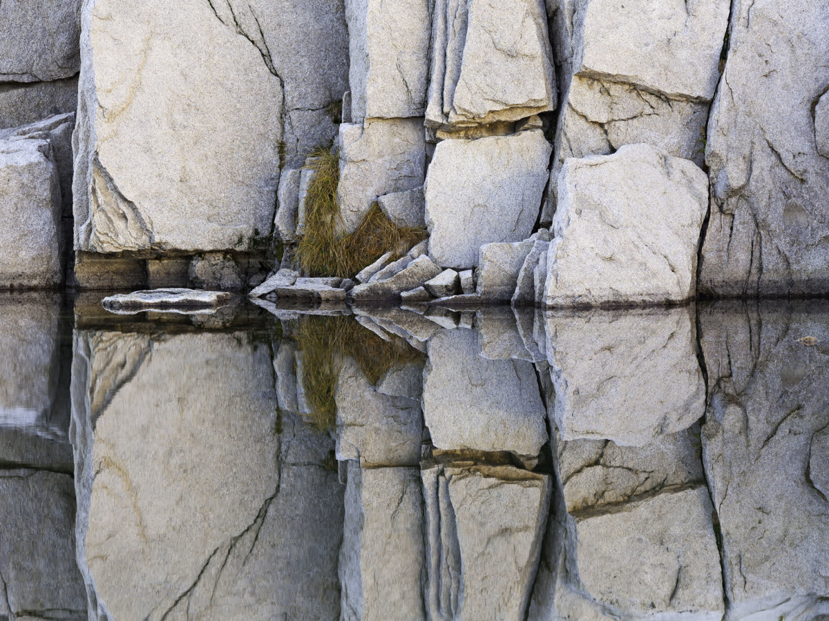 Fractured Granite, Reflection