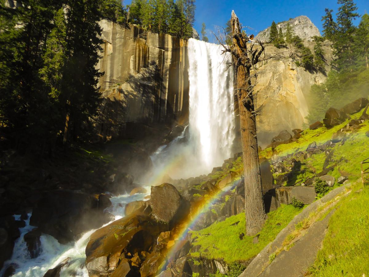 Vernal Double Rainbow
