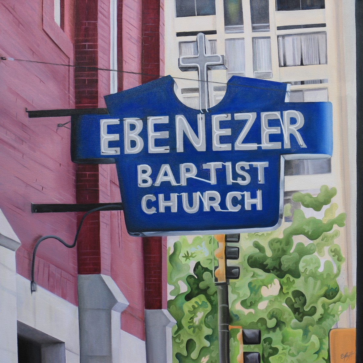 Ebenezer Baptist Church by Emma Knight