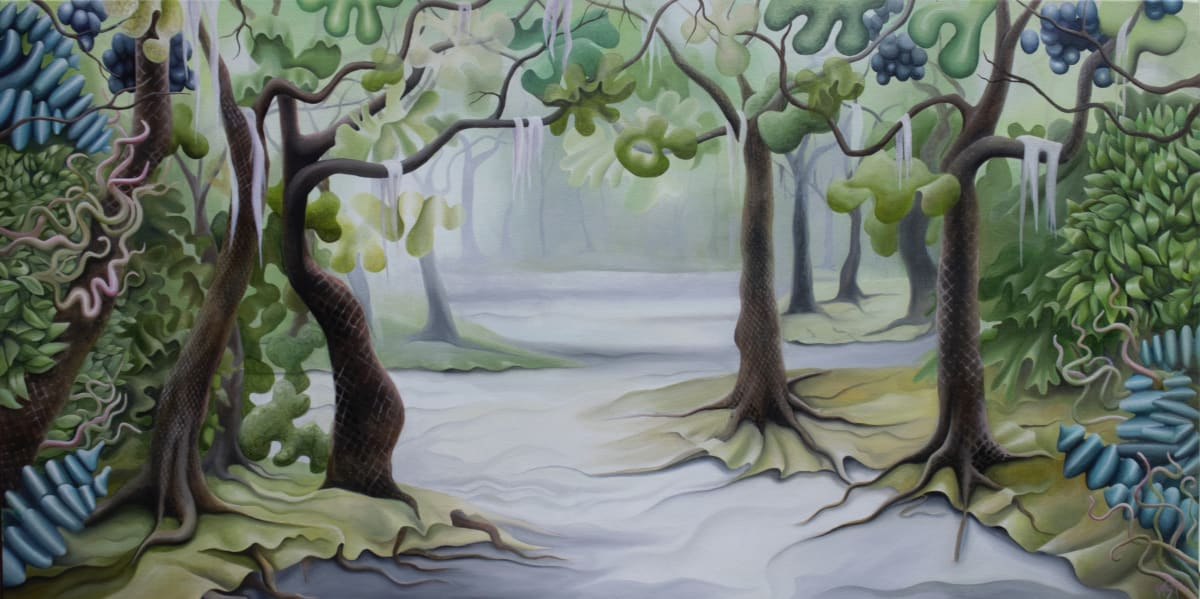 Berried Emerald Oaks by Emma Knight