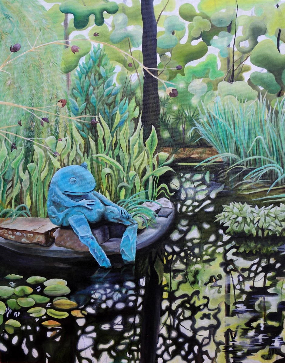 Frog Pond, ATL Botanical Garden