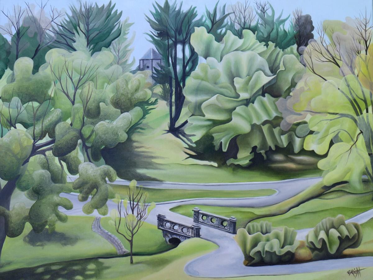 Maymont Trees by Emma Knight