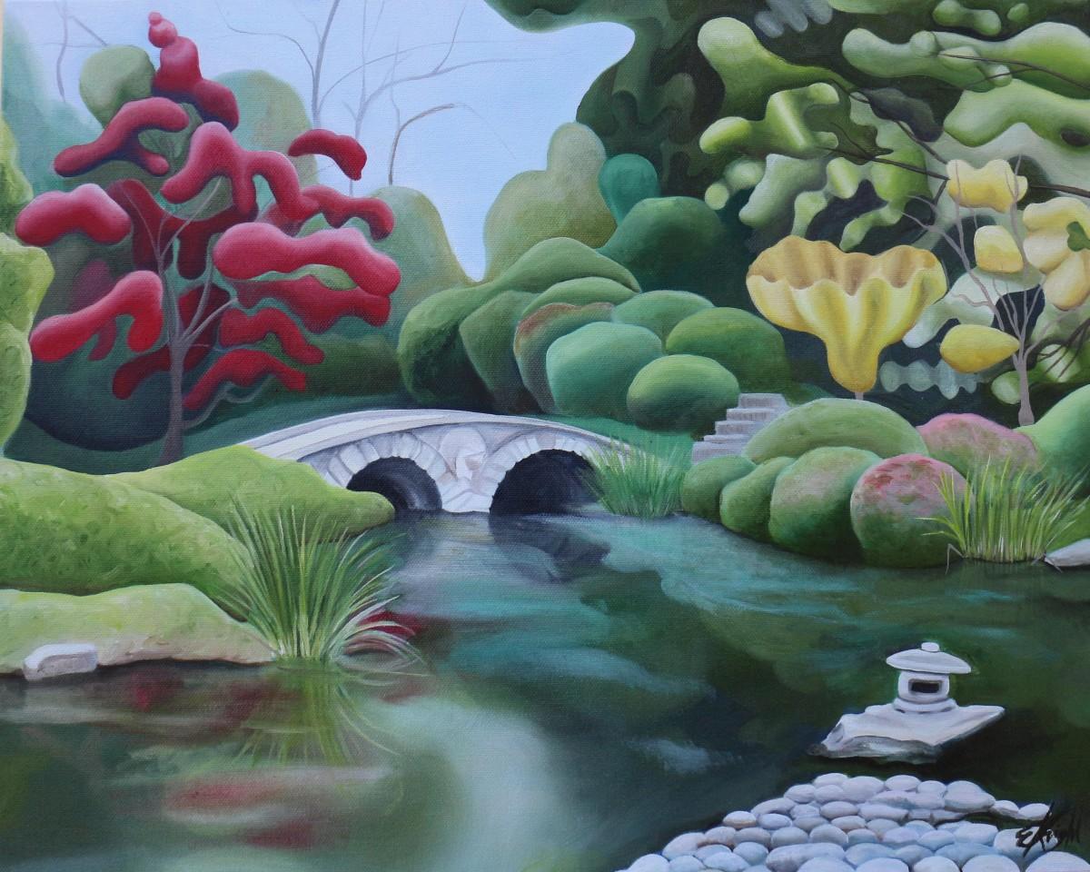 Maymont's Japanese Garden X by Emma Knight